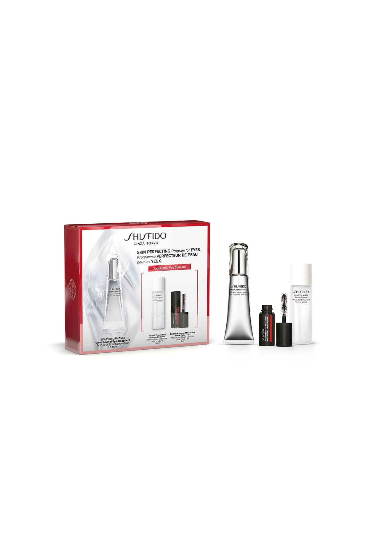 Shiseido Göz Çevresini Yenileyen ve Aydınlatan Bakım Seti - BOP Glow Eye Care Set 3598380364012