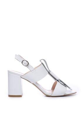 KEMAL TANCA Hakiki Deri Beyaz Kadın Ayakkabı 51 2137 BN AYK