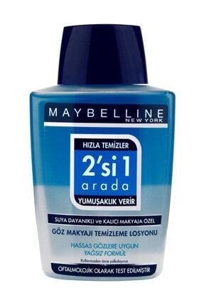Maybelline New York Suya Dayanıklı & Kalıcı Makyaja Özel Göz Makyajı Temizleme Losyonu 8024417183189