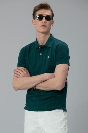 Lufian Laon Spor Polo T- Shirt Koyu Yeşil