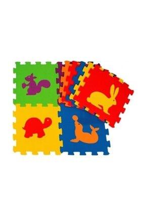 Diger Karakterler Çocuk Oyun Karosu - Eva Puzzle Yer Matı - Hayvanlar