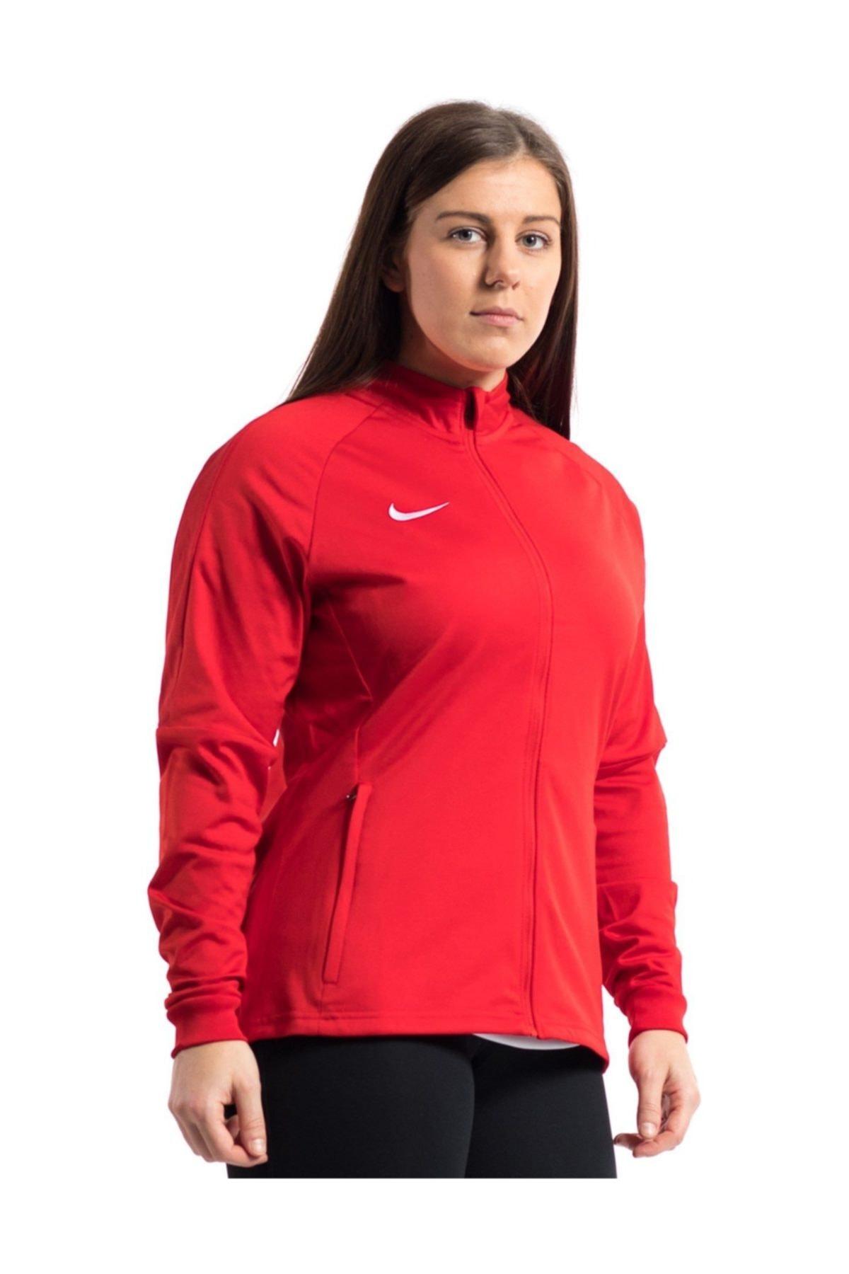 Nike 893767-657 W NK DRY ACDMY18 TRK JKT K Kadın Ceket 1