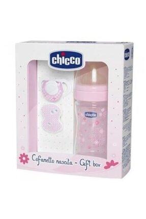 Chicco Pembe Yeni Doğan Hediye Seti Kauçuk