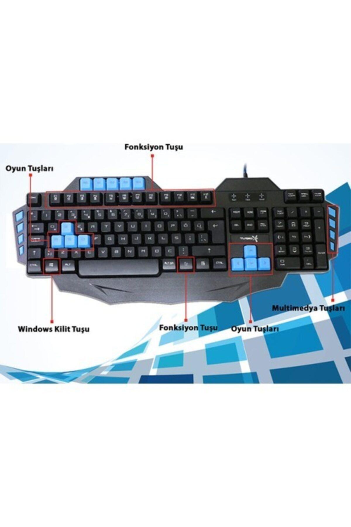 TURBOX Klavye Tr-g1 2