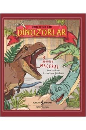 TÜRKİYE İŞ BANKASI KÜLTÜR YAYINLARI Müzede Bir Gün Dinozorlar (3 Boyutlu) (ciltli)