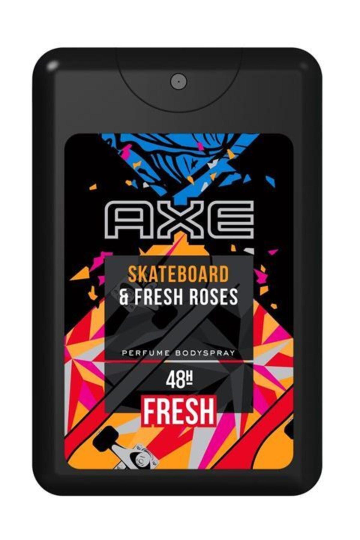 Axe Skateboard & Fresh Roses Erkek Cep Parfümü 17 ml 1