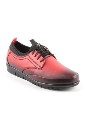 Libero Kadın Kırmızı Bağıcıklı Spor Ayakkabı  5074