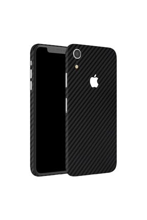 MobilCadde Dafoni Powerguard Iphone Xr Arka + Yan Karbon Fiber Kaplama Sticker