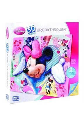 Mega Puzzles 250 Parça 3d Puzzle Breakthrough Minnie Mouse