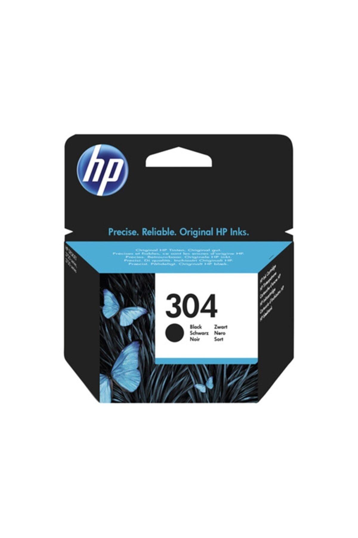 HP 304 Black Siyah Kartuş N9k06ae 1