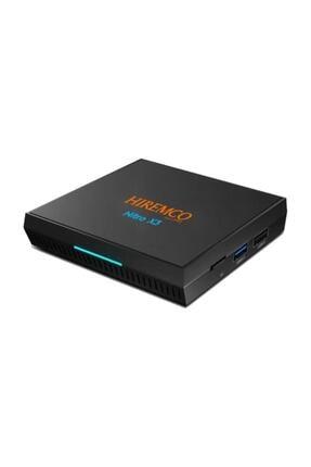 Hiremco Nitro X3 Android Box 4gb Ram 32gb Hafıza V.9.0 Nitro X3