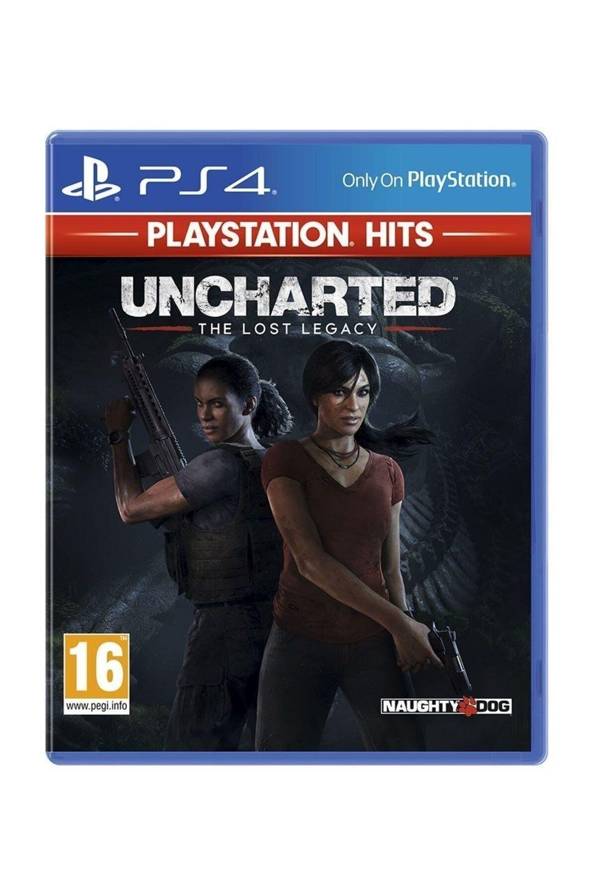 Sony Uncharted Kayıp Miras  - Türkçe Dublaj Ps4 Hits Oyun 1