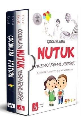 Okuyan Us Yayınları Çocuklar İçin Atatürk Seti-2 Kitap Takım Kutulu - Mustafa Kemal Atatürk