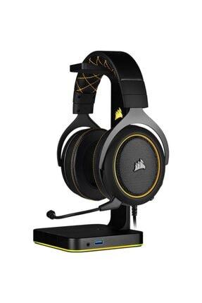 Corsair Sarı Siyah Hs60 Pro Surround 7.1 Harici Ses Kartlı Oyuncu Kulaklığı