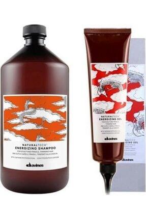 Davines Dökülme Önleyici Set /enerji Jel Şampuan 1Lt VE Dökümeye Yatkın SAçlar İçin 400ml Saç Spreyi