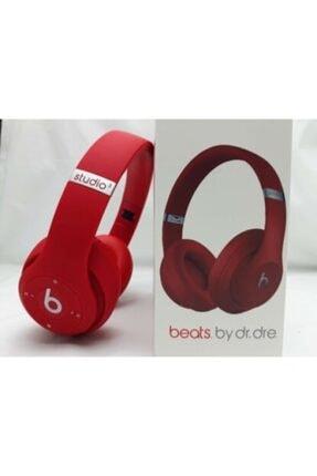 Lussoaksesuar Kırmızı Studio3 Wireless Beats Kulaküstü Kulaklık