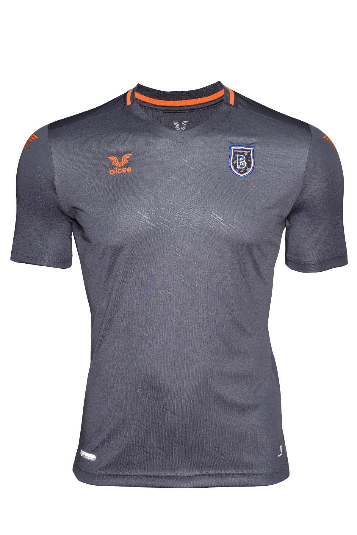 bilcee Başakşehir Antrasit Antrenman T-Shirt BS-3476 1