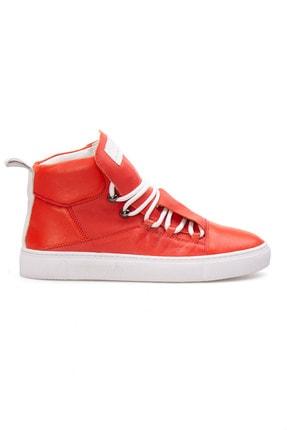 Pegia Kadın Pembe Hakiki Deri Sneaker La1307