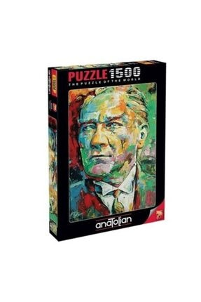 Anatolian Puzzle Mustafa Kemal Atatürk 1500 Parça Puzzle 4555