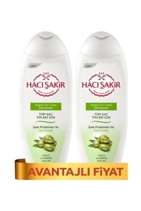 Hacı Şakir Şampuan Kremli Zeytinyağı - Tüm Saçlar 500 Mlx 2
