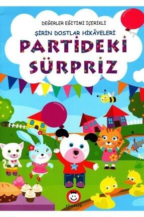 Şiir Çocuk Okul Öncesi Partideki Süpriz Hikaye Kitabı