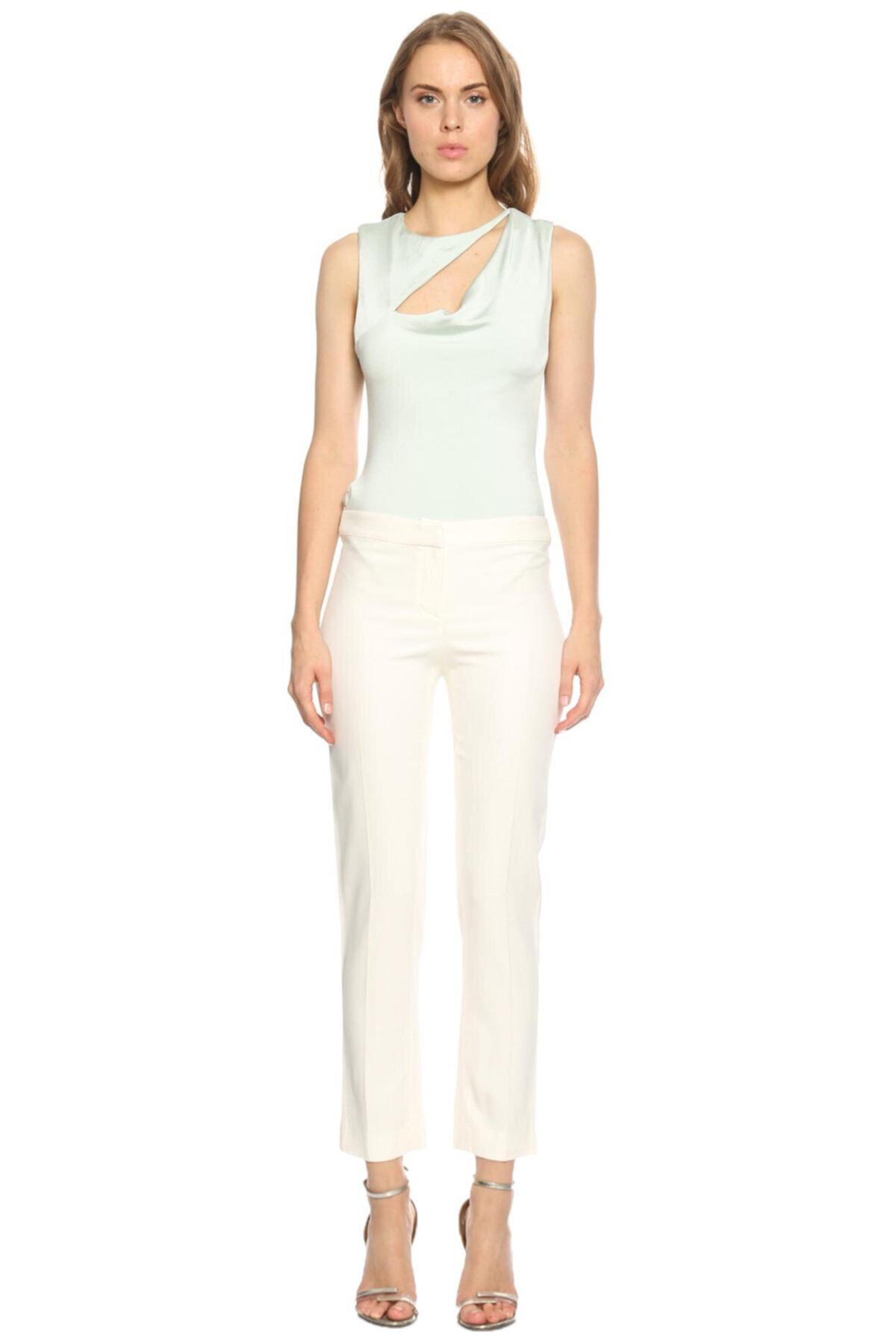 PHILOSOPHY FERRETTI Kadın Beyaz Philosophy Ferretti Klasik Pantolon 2