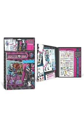 MONSTER HIGH 700 Lü Sticerler