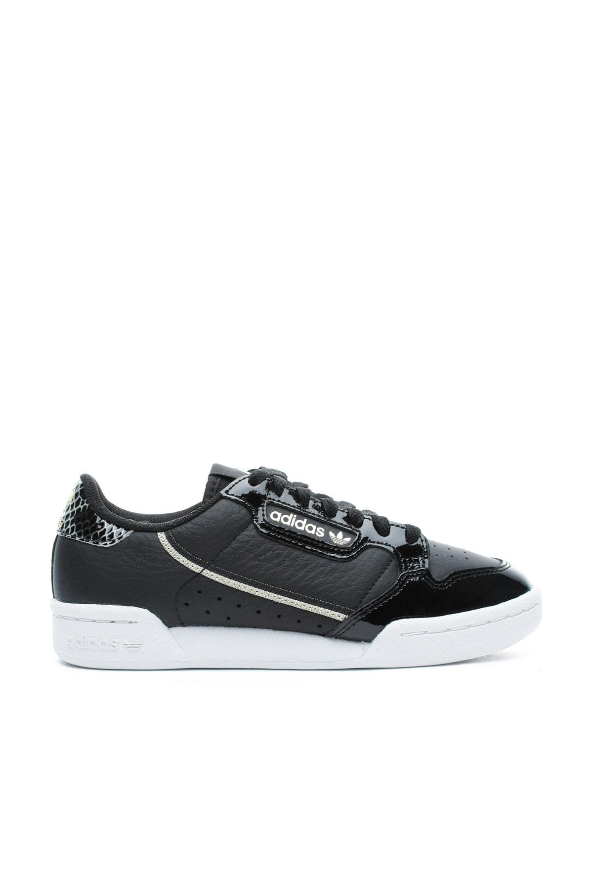 adidas Continental 80 Kadın Siyah Spor Ayakkabı 1