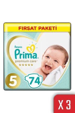 Prima Premium Care Bebek Bezi 5 Beden 11-16 Kg 222'li Junior Fırsat Paketi