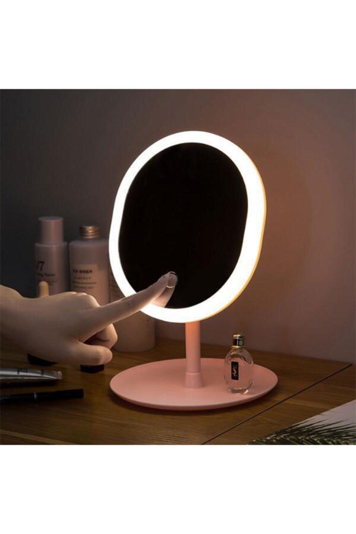 EZERE Makyaj Aynası Led Işıklı Makyaj Dokunmatik Usb Kablolu Lambası Dokunmatik 1