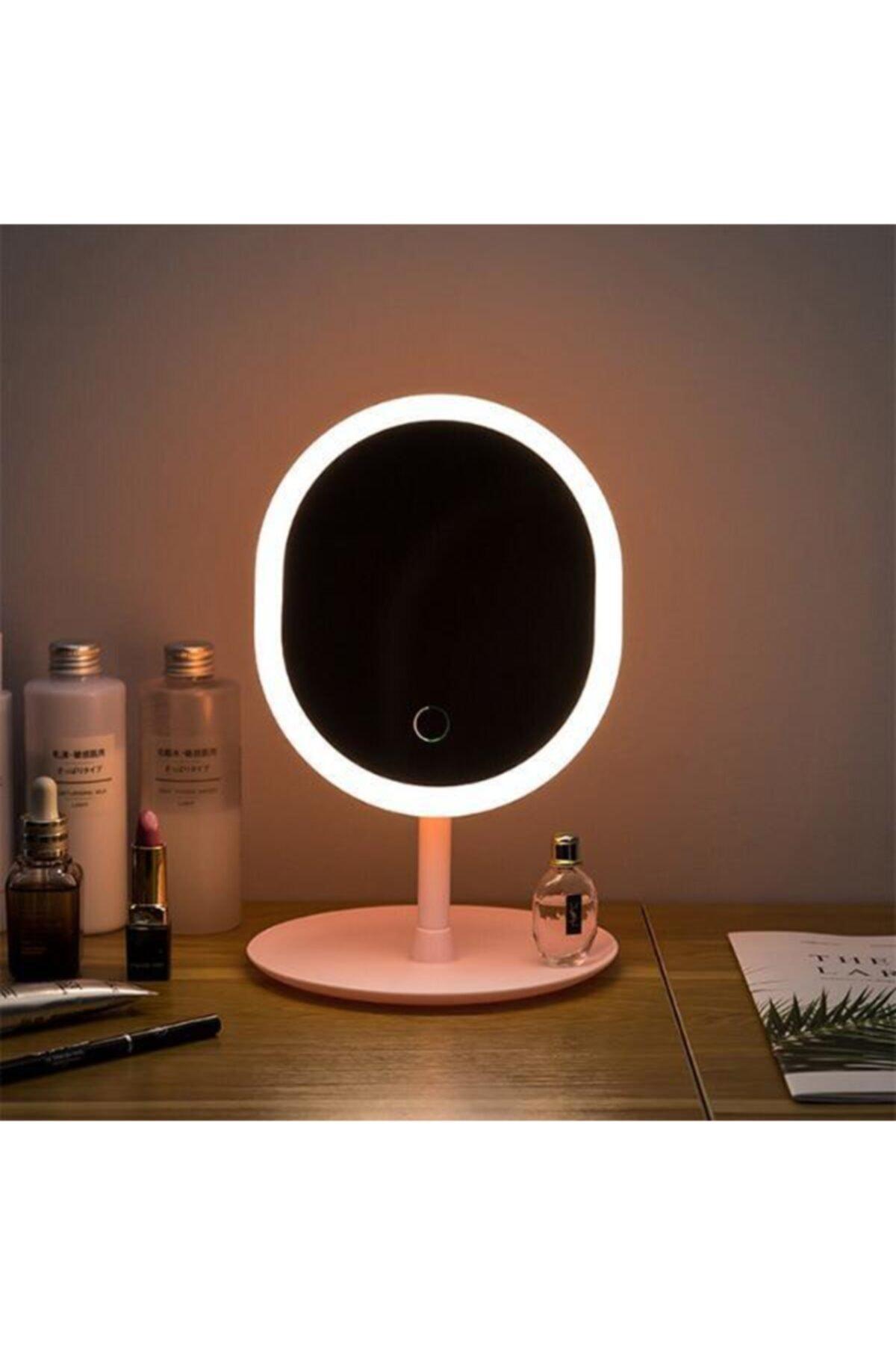 EZERE Makyaj Aynası Led Işıklı Makyaj Dokunmatik Usb Kablolu Lambası Dokunmatik 2