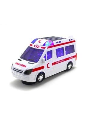 SUDEN Oyuncak Ambulans Araba Sesli Işıklı
