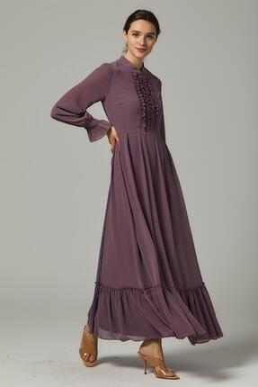 Loreen Kadın Mor Elbise
