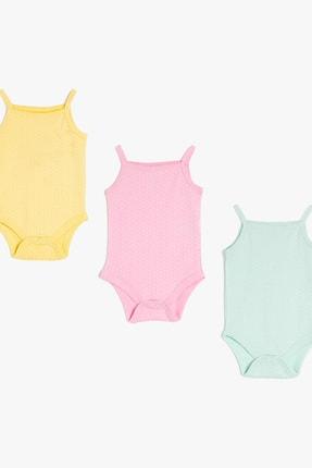 Koton Kız Bebek Sari Bebek Takımları 0YNG11250OK