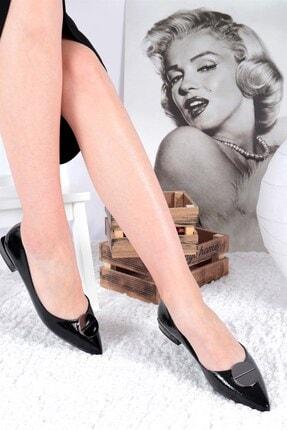 Buffalo Raissa Siyah Topuklu Ayakkabı