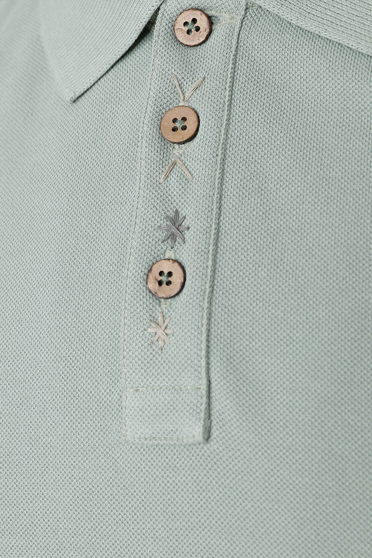 W Collection Erkek Yeşil Polo Yaka T-Shirt 2