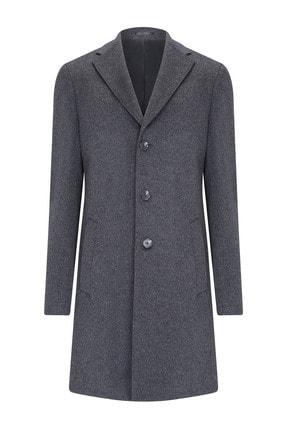 W Collection Erkek Antrasit Manto-Palto