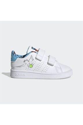 adidas Erkek Beyaz Advantage Ayakkabı