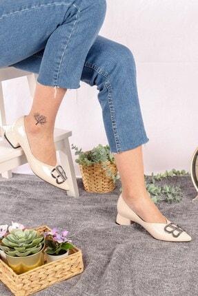 Buffalo Kadın Krem Keila Topuklu Ayakkabı