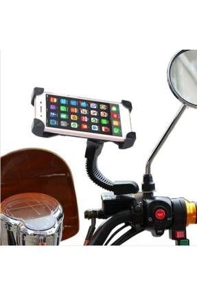 BLUE İNTER Motorsiklet Bisiklet Telefon Tutucu Navigasyon Tutacağı