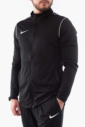Nike Erkek Sweatshirt - Dry Park20 Trk Jkt Knt Eşofman Üst - BV6885-010