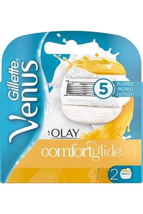 Gillette Venus Comfortglide Olay 2'li Yedek Tıraş Bıçağı
