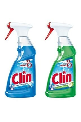 Clin Cam Temizleyici Elma Pırlanta 500 ml 2 Li