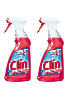 Clin Cam Temizleyici Sirke Parlaklığı 500 ml 2 Li