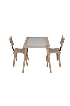 Artahşap Ahşap Çocuk Masa Sandalye Takımı