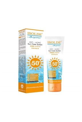 Zigavus Isolde Anti-aging Güneş Koruyucu Yüz Kremi Spf50+ 100 ml