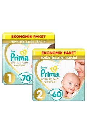 Prima Premium Care Ekonomik Paket 1 Beden 70 Adet + 2 Beden 60 A