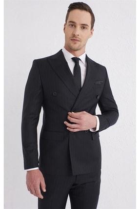 Efor Tk 798 Slim Fit Siyah Klasik Takım Elbise