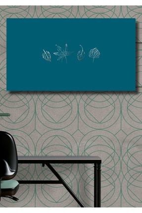 Hediyeler Kapında 70x100 Basic Blue Duvar Kanvas Tablo