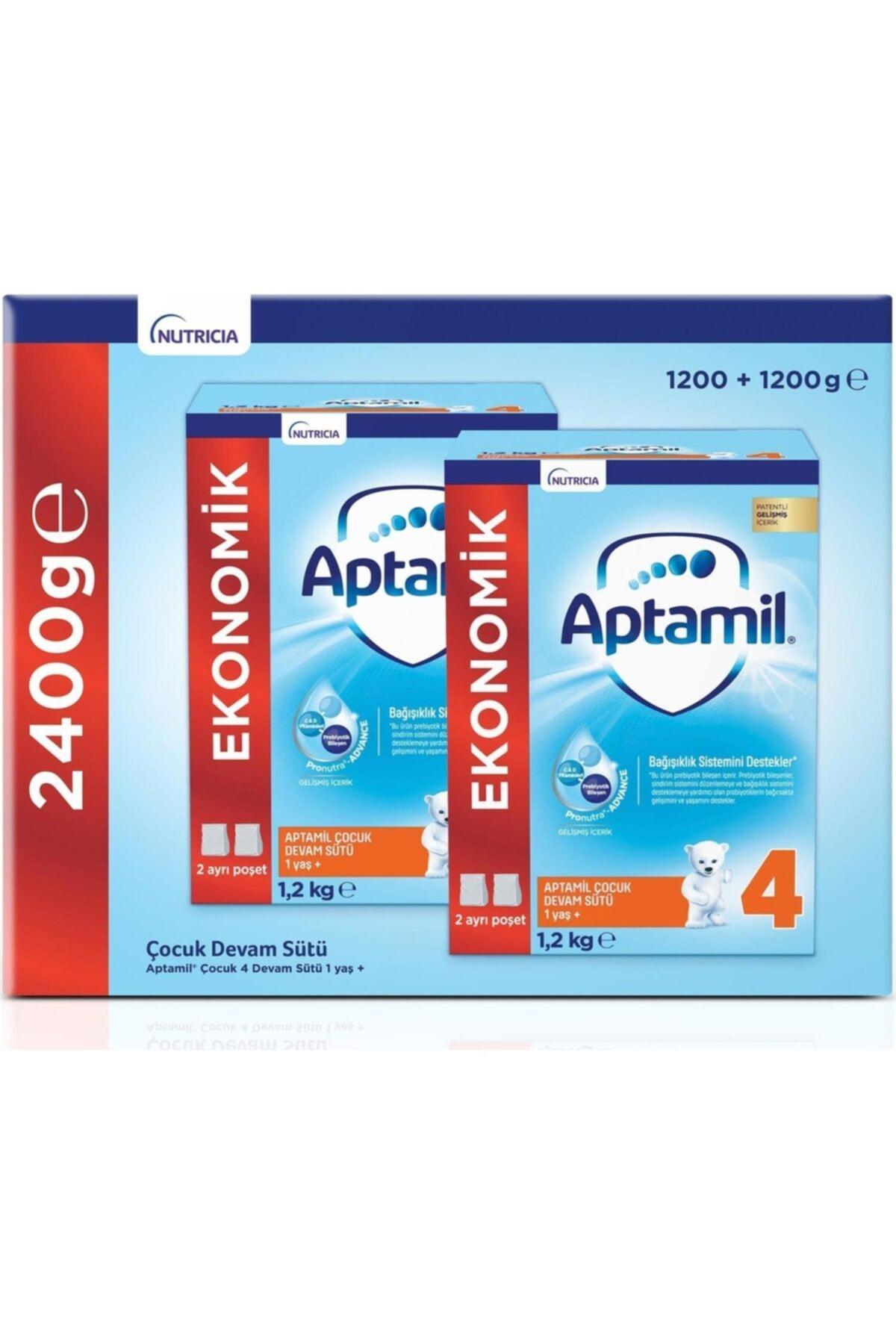 Aptamil Mılupa 4 Devam Sütü 1200gr x 2 1